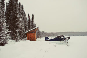 Plane-in-the-snow